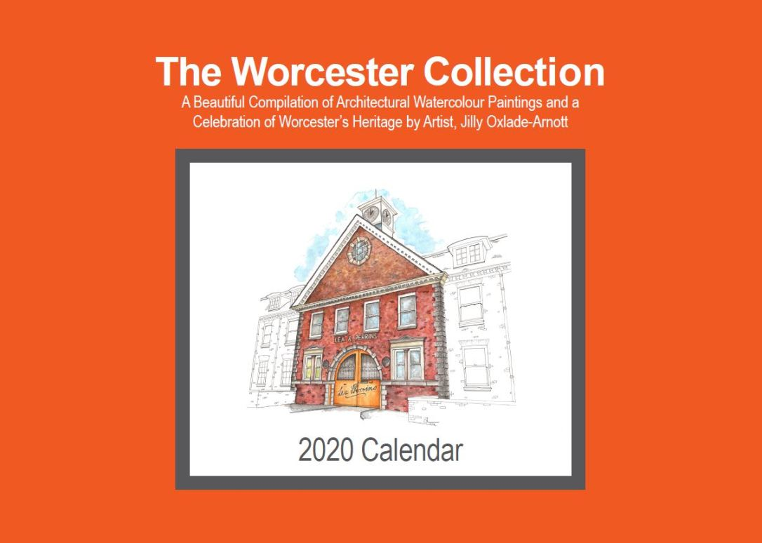 Worcester Collection Calendar Cover