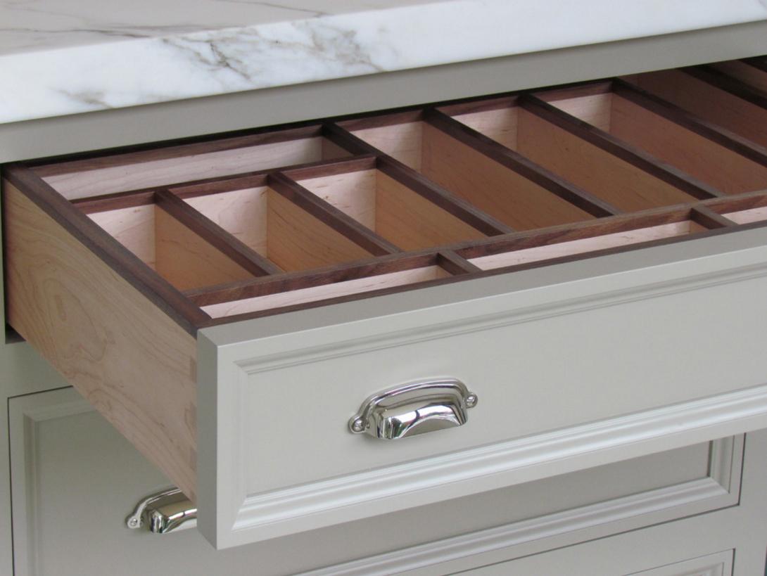 Storage Ideas For Kitchen Cabinet Interiors