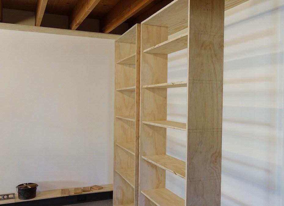 Making the Bookshelves