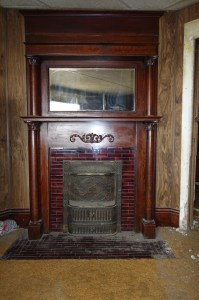 Removing a Fireplace Mantel and Tile Surround ...