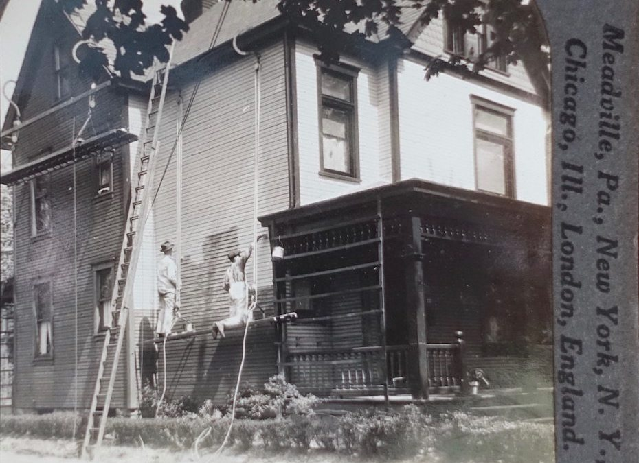 Painting the House c. 1915