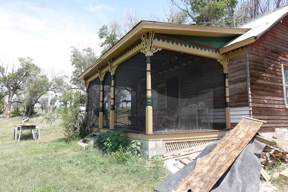"Backdating a ""Teardown"" – Part 4: The Bunkhouse Porch Gets Screened"