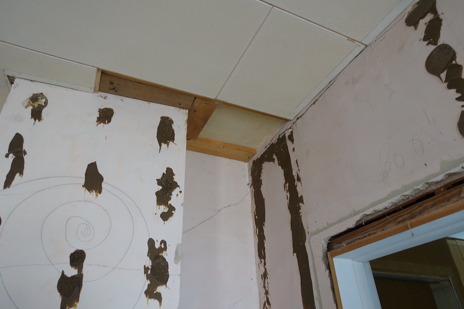 Removing Wall Paneling and Ceiling Tiles