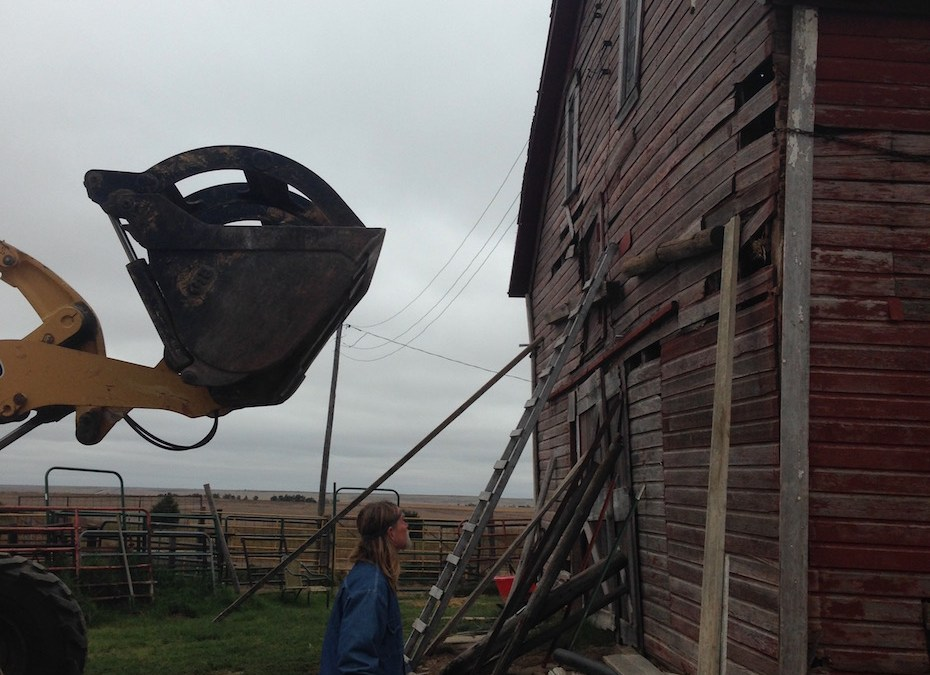 Rescuing a Leaning Barn From Future Collapse