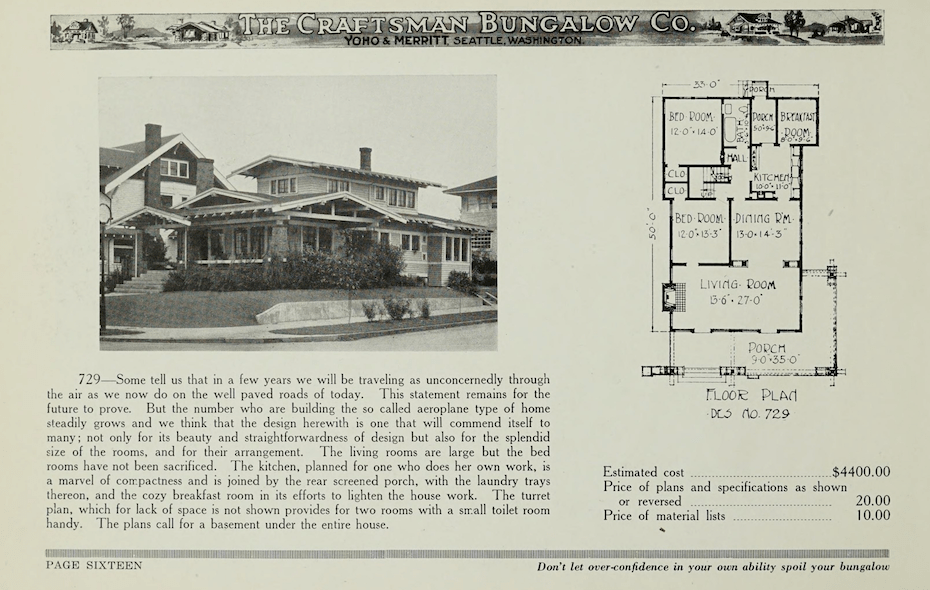 Craftsman Bungalow Nirvana The Captivating Designs Of Jud Yoho Architectural Observer