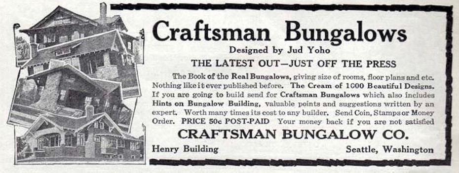 Craftsman Bungalow Nirvana:  The Captivating Designs of Jud Yoho