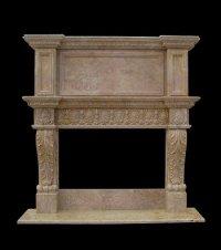MODEL MFP205 Houston Tx - Custom Imported Marble Fireplace ...