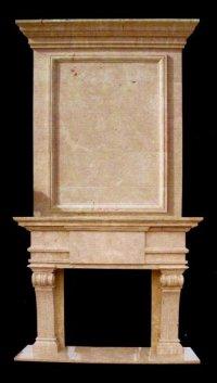 MODEL MFP191 Houston Tx - Custom Imported Marble Fireplace ...