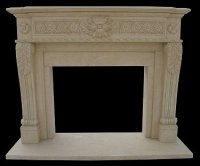 MODEL MFP195 Houston Tx - Custom Imported Marble Fireplace ...