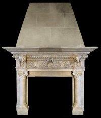 MODEL MFP202 Houston Tx - Custom Imported Marble Fireplace ...