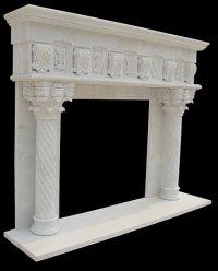 MODEL MFP216 Houston Tx - Custom Imported Marble Fireplace ...