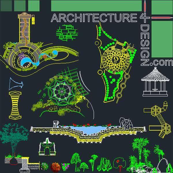 landscape design collection