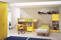 Yellow kids room design | Architecture & Interior Design