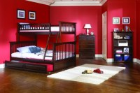 Red Kids room design | Architecture & Interior Design