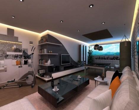 Grey interior design  Architecture  Interior Design