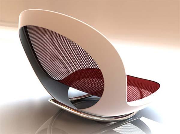 Colorful chairs  Architecture  Interior Design