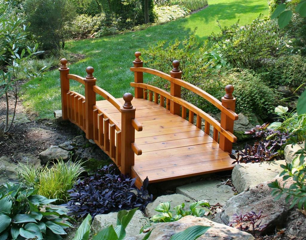 Small Garden Bridge Plans