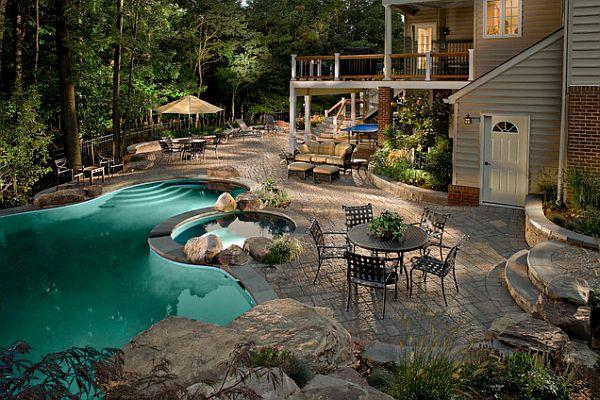 Stunning backyard design  Architecture  Interior Design
