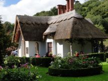 Ireland Thatched Roof House