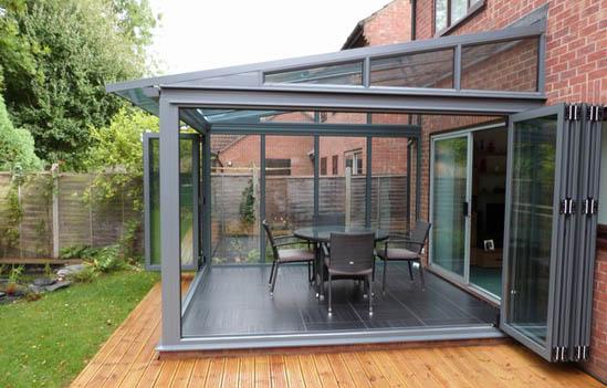 Bespoke aluminium bifold doors and windows  Architecture