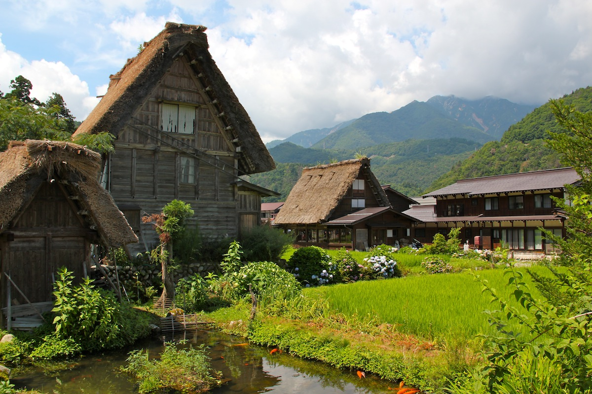 Facebook Wallpaper Fall Colors Shirakawa Village Japan Architecture Amp Interior Design