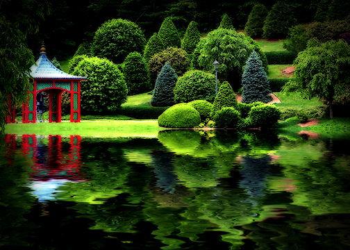 Think Feel See Inspire Exhale Zen Architecture