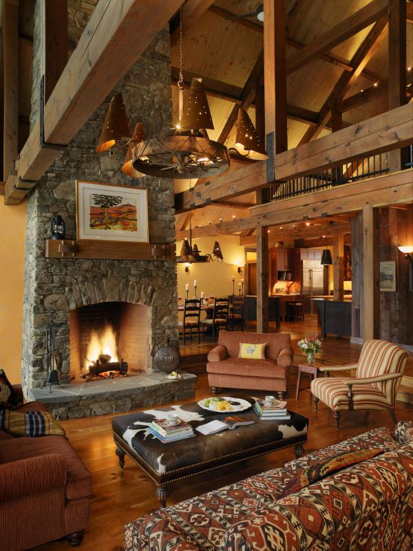 Quiet Moments Fireplace Architecture & Interior