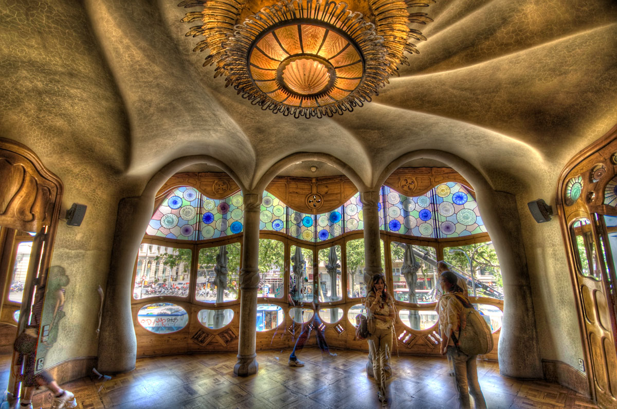 Casa Batll the masterpiece by Antoni Gaud  Barcelona Spain  Architecture  Interior Design