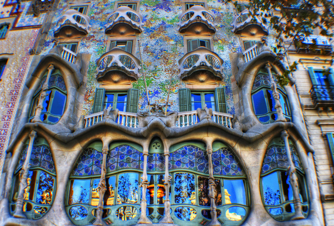 Casa Batll the masterpiece by Antoni Gaud  Barcelona