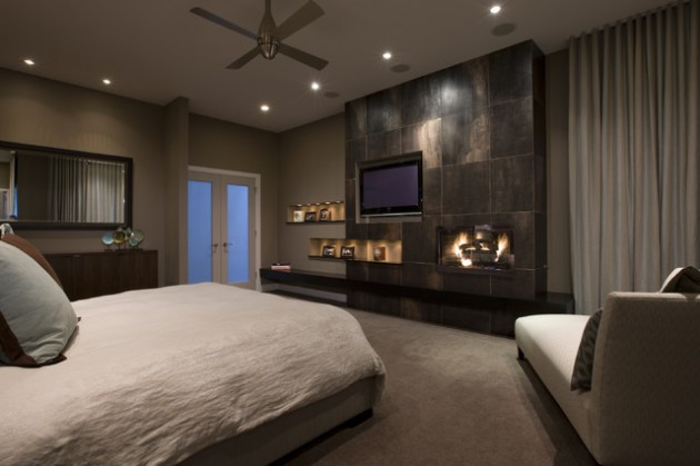 Fireplace Tv Stand Black 15 Unbelievable Contemporary Bedroom Designs