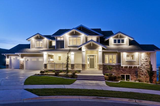 15 Inviting American Craftsman Home Exterior Design Ideas