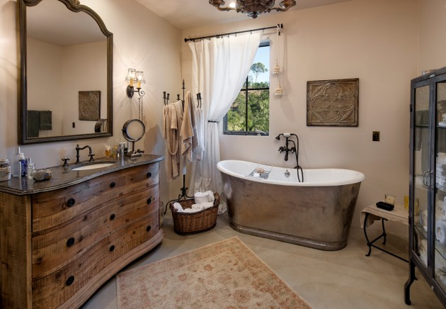15 Embracing Farmhouse Bathroom Designs For Inspiration