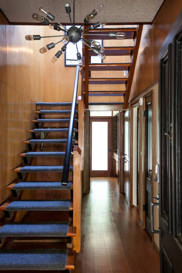 Rustic Home Design 15 Outstanding Mid-century Modern Staircase Designs To