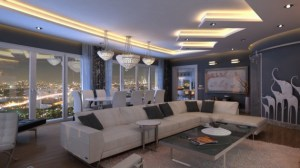 living penthouse designs interior admire stunning source istanbul