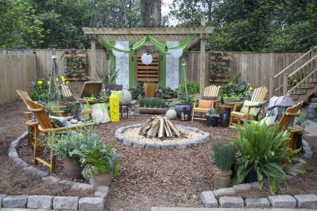 Fire Pit Landscaping Ideas Creative New Home Design Fire Pit 17 Wonderful Rustic Landscape Ideas To Turn Your Backyard