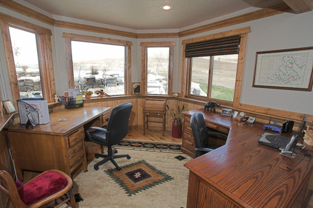 16 Encouraging Southwestern Home Office Designs You'll