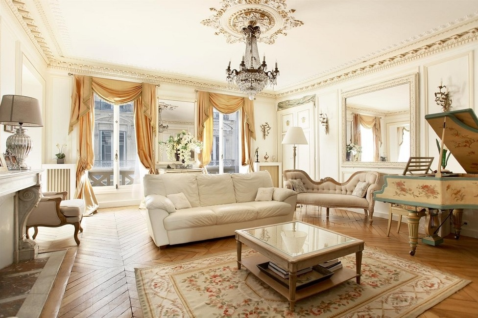 16 Captivating French Style Living Room Designs That Will