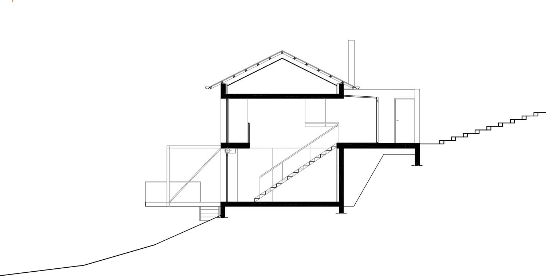 Plan de maison individuelle sur terrain en pente - Plan maison sur terrain en pente ...