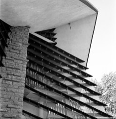 First Unitarian Society Meeting House, Shorewood Hills, WI, 1951. Photo: R&R Meghiddo.
