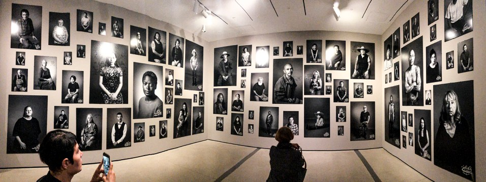 At The Broad -Shirin Neshat Exhibition, 2019