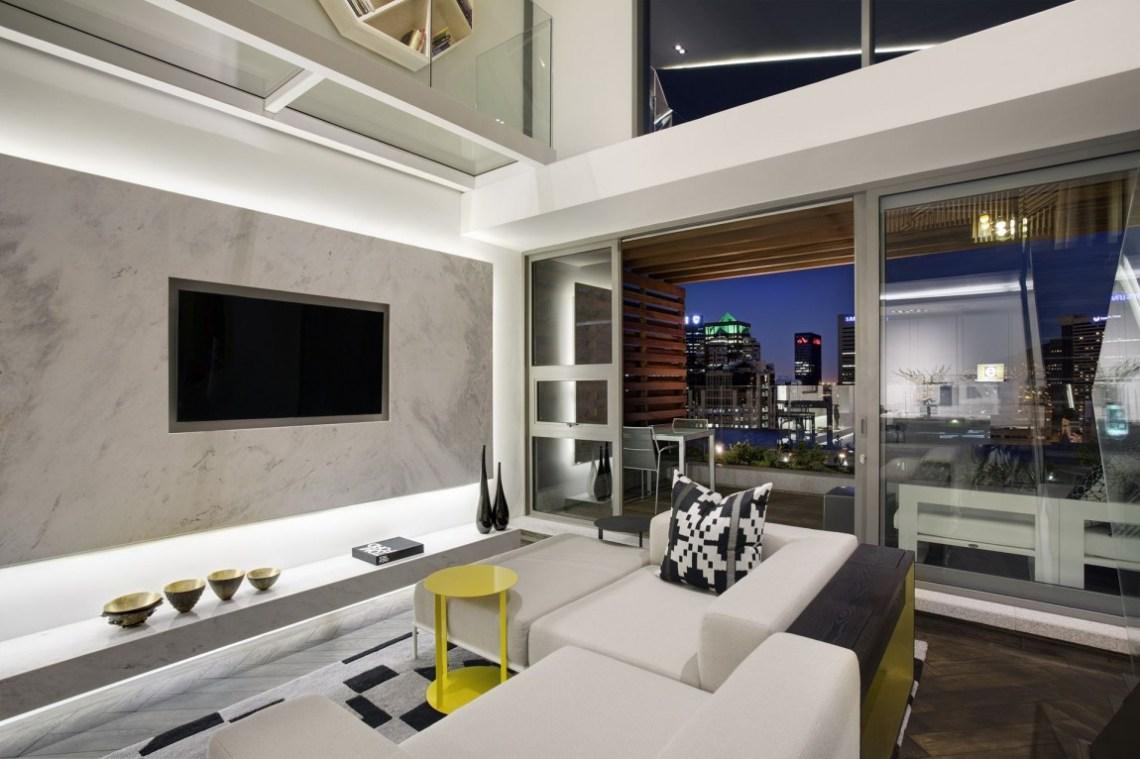 Gorgeous Small Apartment Interior Design Idea by SAOTA ...
