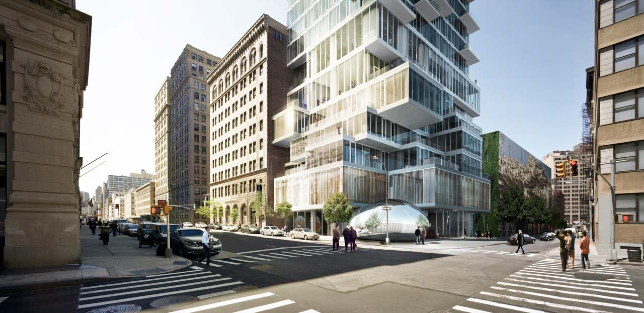 56 Leonard Street  Unique Design Defining New York Skyline  Architecture Beast