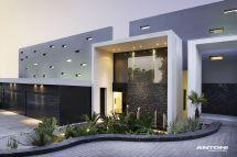 Modern House Entrance Design