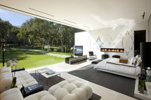 Bedroom Glass House Interior