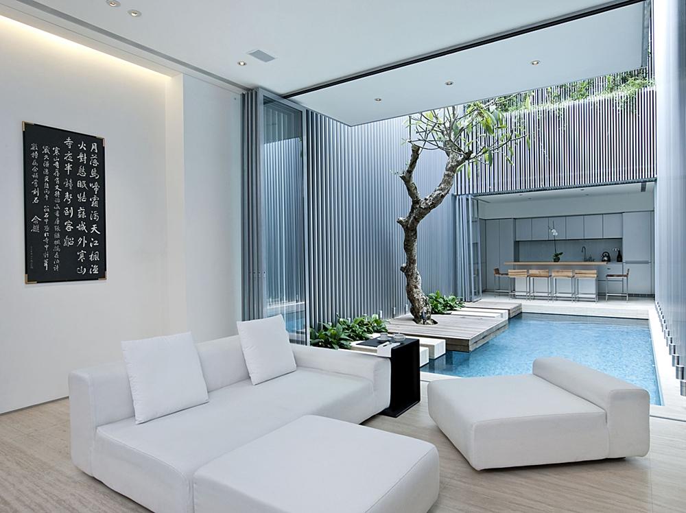 Creative Home  Stunning Modern 55 Blair Road House  Architecture Beast