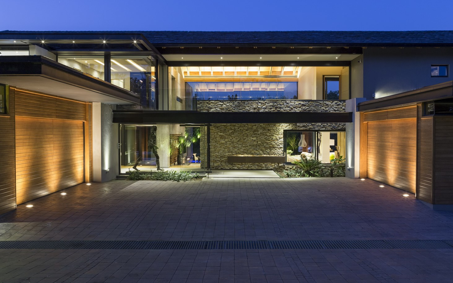 Contemporary House in Blair Athol South Africa  Architecture Beast