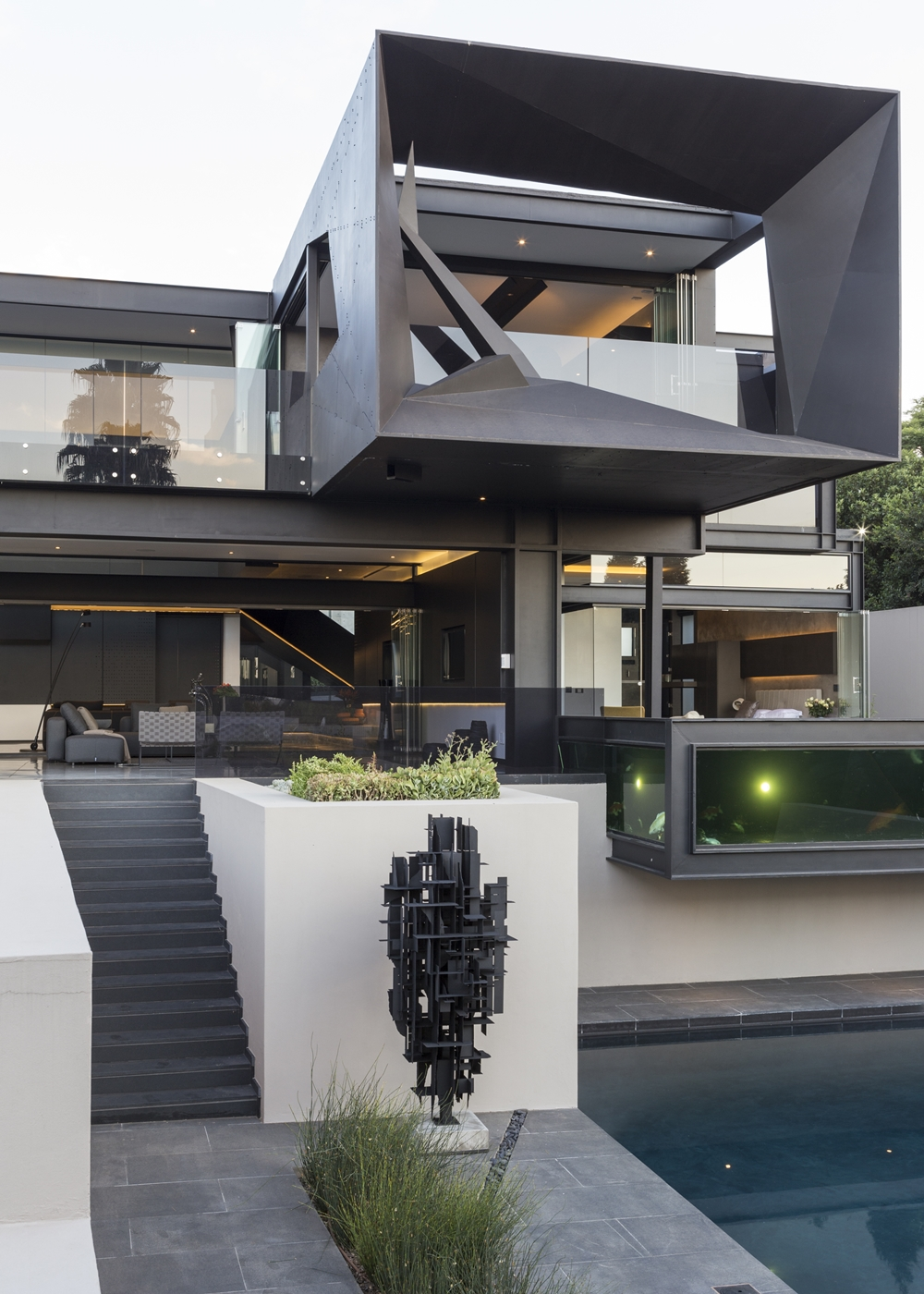 Best Houses in the World Amazing Kloof Road House  Architecture Beast