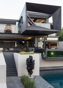 Houses In World Amazing Kloof Road House