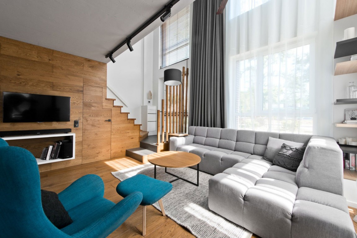 beautiful small apartment living rooms room sofa set designs scandinavian interior design in a by inarch