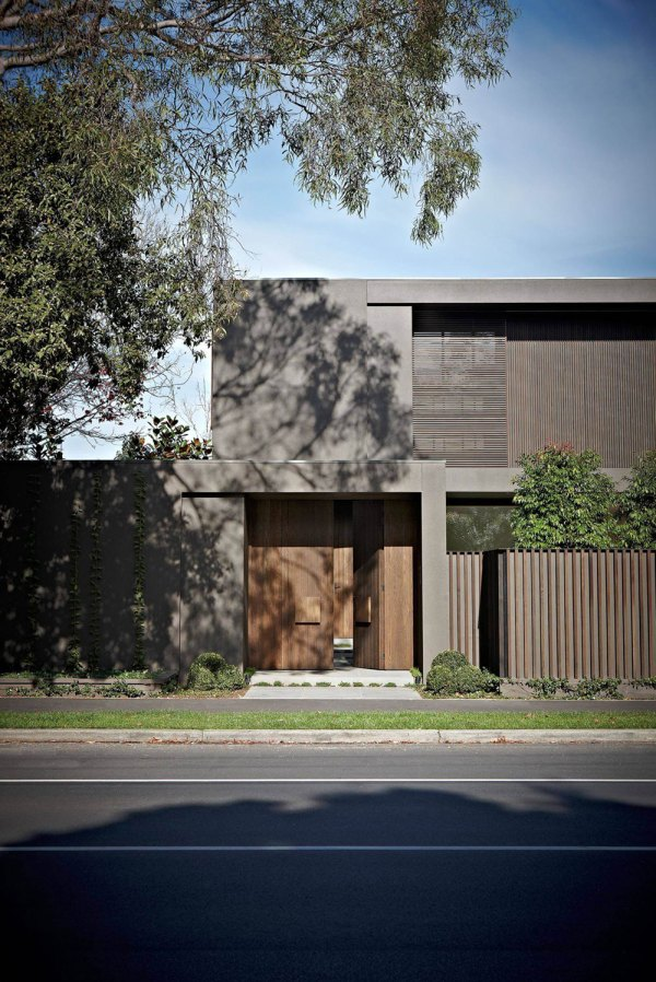 House Colors Amazing Modern Facade In Brown